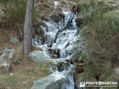 Cascada de Mojonavalle - Sierra de la Morcuera;senderismo teruel;senderismo vigo